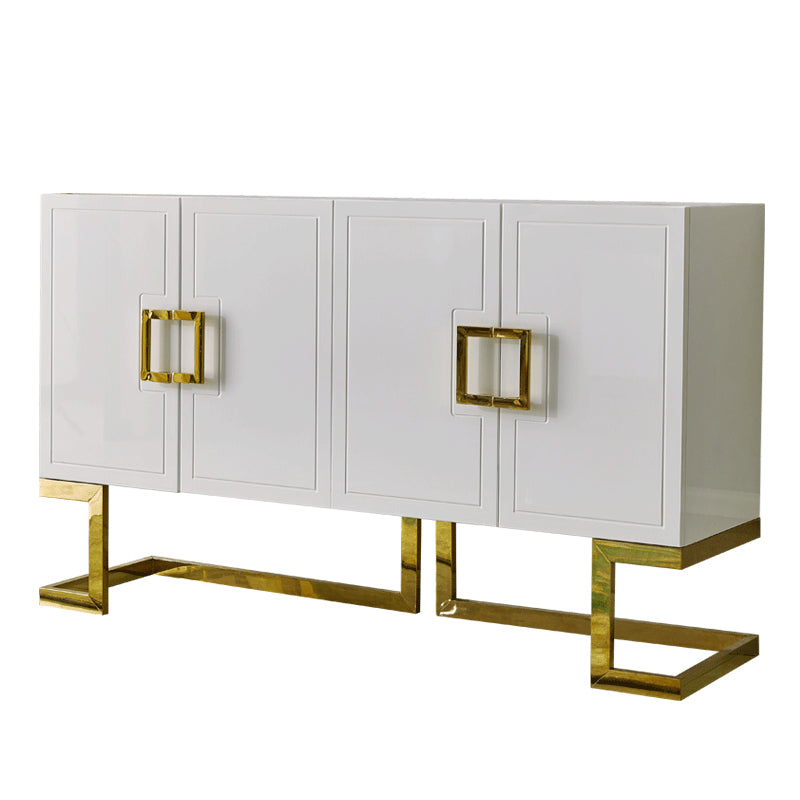 Luxury Classic Color Paint Console Table with 4 Door