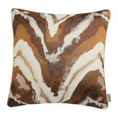 Marble Texture Velvet Soft Decorative Throw Pillow Decor Cushion, Two Color