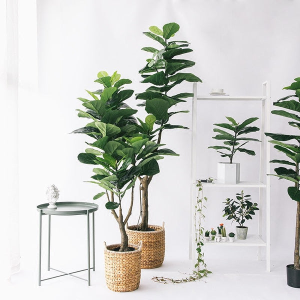 Ficus Lyrata Artificial Plant Fiddle Leaf Fig Tree for Home Decor