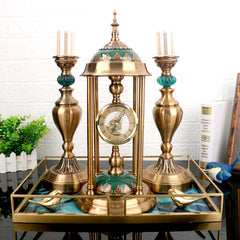 Clock and Candelabra Ensemble