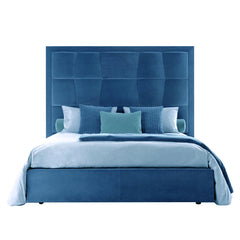Luxurious Bed - King Size, Blue