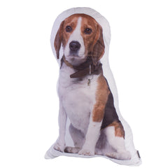 Beagles Dog Shape Pillow Decor Cushion
