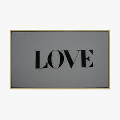 Framed Wall Art - LOVE