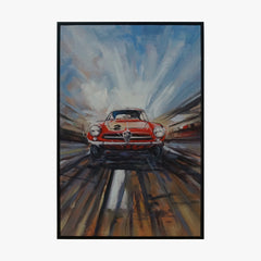 Oil Painting - Car NO.2