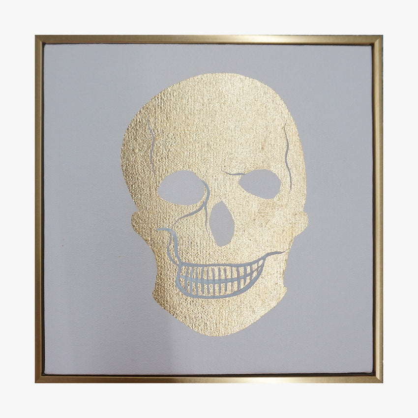 Framed Wall Art - SKULL