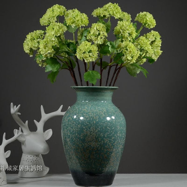 3 Heads Artificial Silk Hydrangea Flower