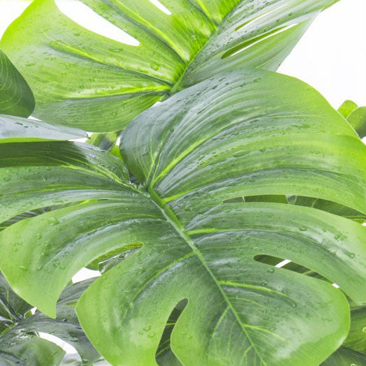 Monstera Artificial Plant Tropical Palm Tree