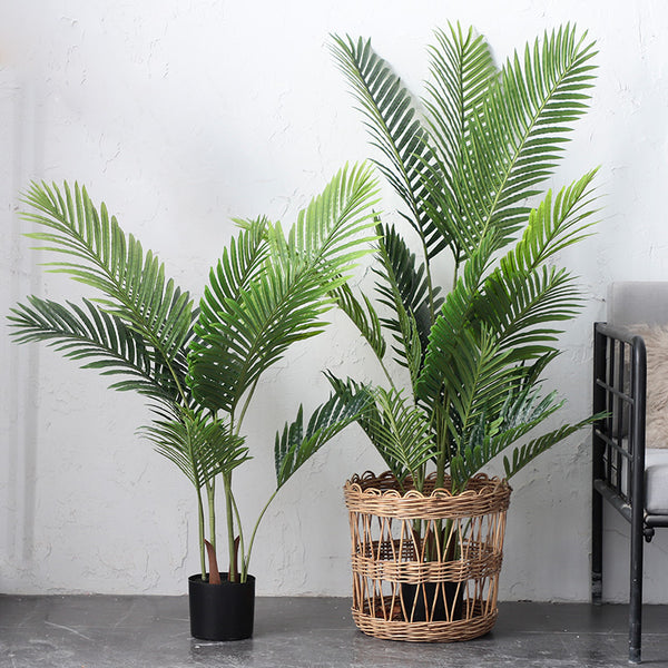 Greenery Tropical Palm Tree in pot