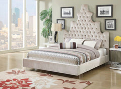 ACME Honesty Queen Bed - 25030Q - Sand Plush