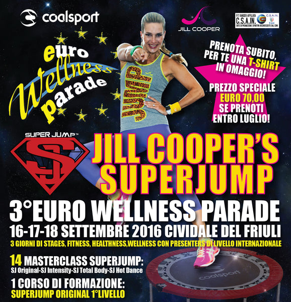 JILL COOPER'S SUPERJUMP - 3° Euro Wellness Parade