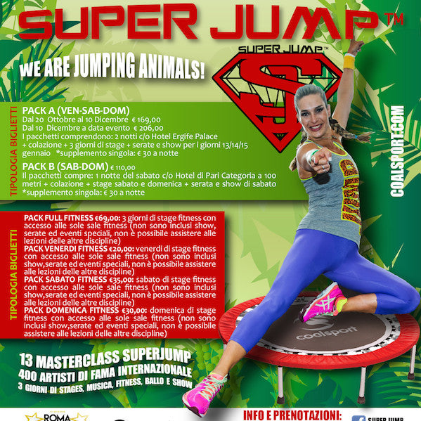 SUPERJUMP JUNGLE TRIBE
