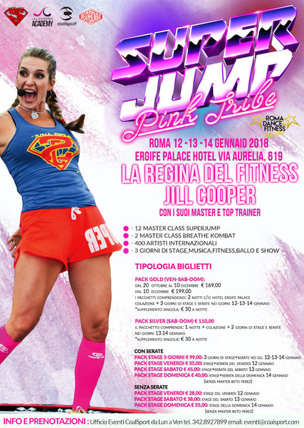 SUPERJUMP PINK TRIBE