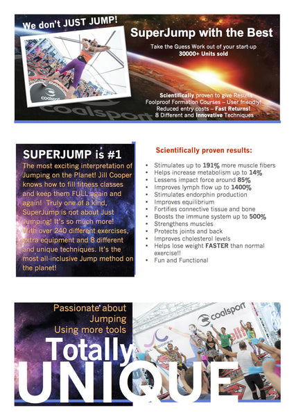 SuperJump with the Best  Why we are different!