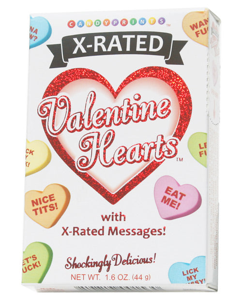 X-rated Valentine Hearts Candy - 1.6 Oz Box