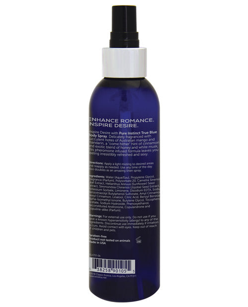 Pure Instinct Pheromone Body Spray - 6 Oz