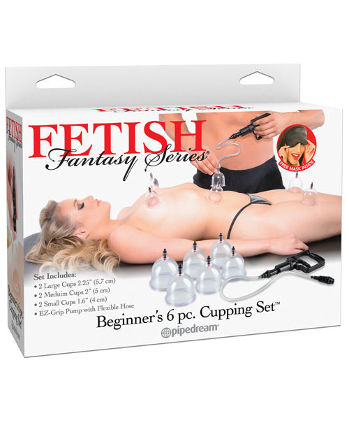 Fetish Fantasy Series Beginner's Cupping Set