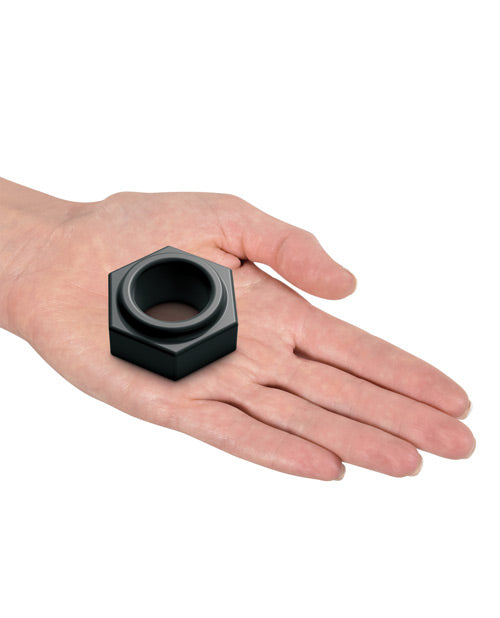 Sir Richards Control Super Nut Silicone C Ring - Black