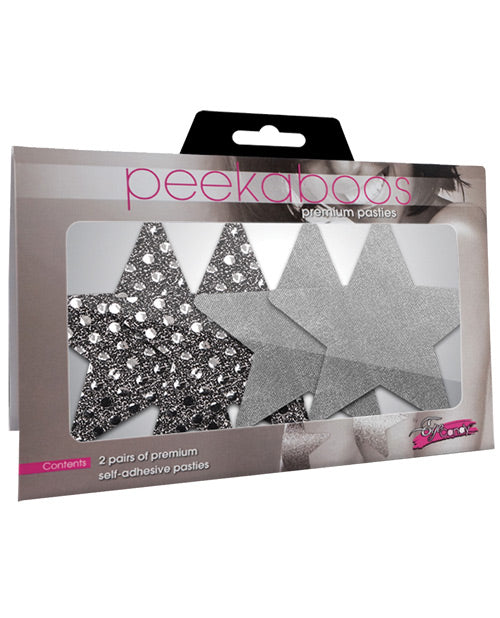 Dark Angel Stars - Silver Pack Of 2