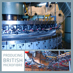 manufacturing british microfibre to make our underwear and baselayers.