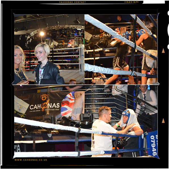 Cahoonas. British sportswear & underwear fight night