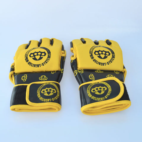 MMA fight gloves designed by Cahoonas