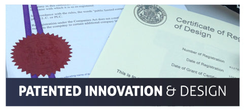 Full British Patented Innovation & Design