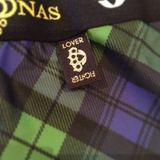 Black watch tartan pants