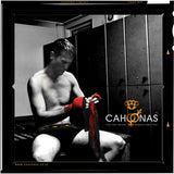 Cahoonas75 trunks, modelled by professional boxer Craig McEwan