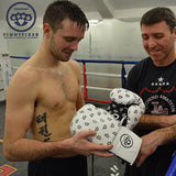 Joshtaylorboxer prestonpans trains in his cahoonass FightFixer sparring gloves