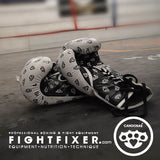 14oz Fightfixer Leather Laceup Advanced PRO-sparring Gloves