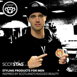 Josh Taylor Professional boxer uses Scotstag hair putty by Cahoonas