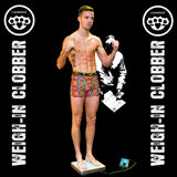 Limited edition tartans weigh-in trunks as worn by Josh Taylor Boxer.