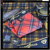 Red tartan microfibre trunks part of the 7 pairs you get in the loveknuckle cahoonas bigman box.