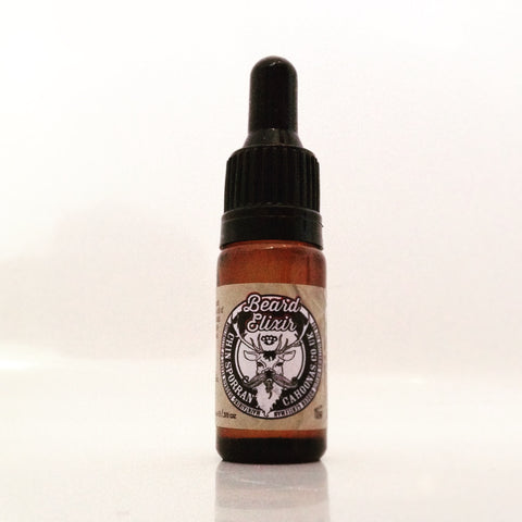 Chinsporran Elixir  - Show your beard you love it and keep the midges at bay, all in one well-thought out, hand-blended, 10ml pot of beardy joy