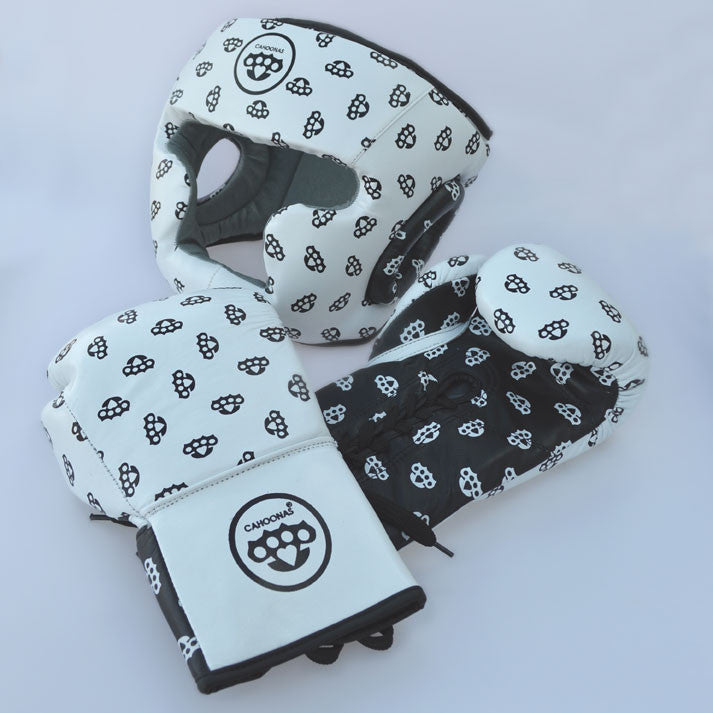 FightFixer™ gloves and head guard