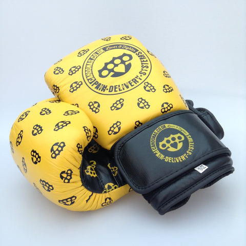 16oz Leather Punchers Gloves. Sparring Boxing gloves