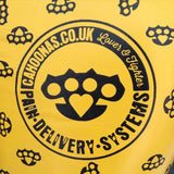 Yellow knuckleduster design