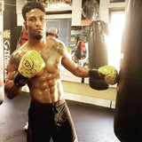 London Boxer trains in Cahoonas punchers gloves
