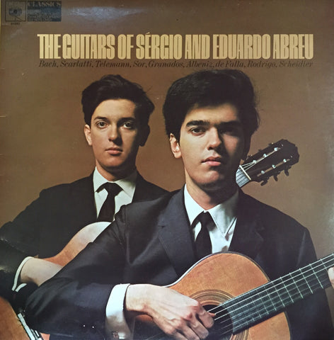 Sergio and Eduardo Abreau / The Guitars of Sergio and Eduardo Abreau, LP