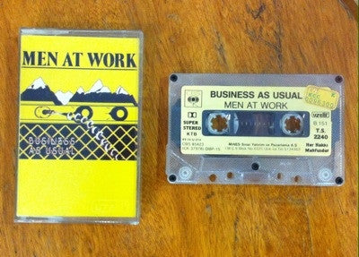 Men at Work / Business as Usual, Kaset