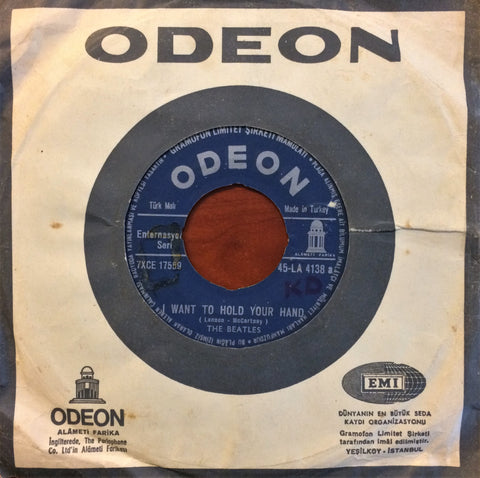 "Beatles, The, I Want To Hold Your Hand / This Boy, 7"" single"