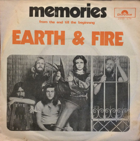 "Earth & Fire, Memories / From The End Till The Beginning, 7"" single"