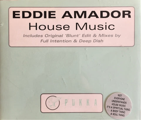Eddie Amador / House Music, CD Single