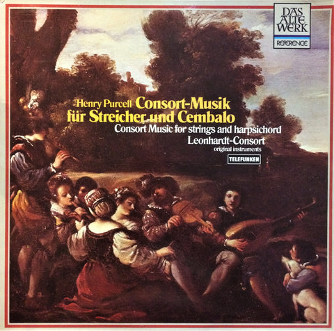 Henry Purcell / Consort Music for Strings and Harpsichord, LP