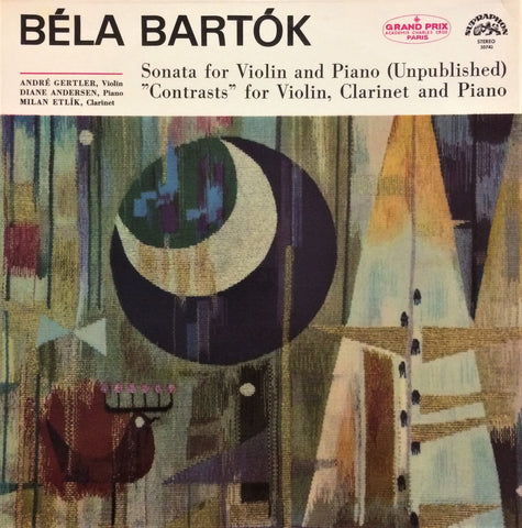 Bela Bartok / Sonata for Violin and Piano, LP