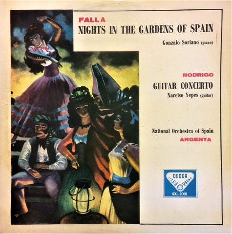 Falla, Nights in the Garden of Spain / Rodrigo, Guitar Concerto, LP