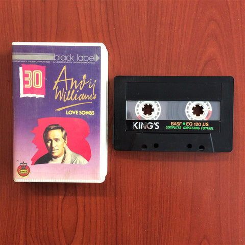 Andy Williams / Love Songs, Kaset