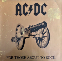 AC/DC / For Those About To Rock We Salute You, LP