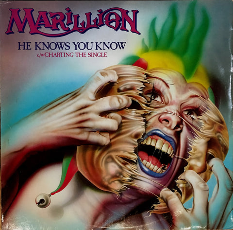"Marillion, He Knows You Know / Charting the Single, 12"" Single"