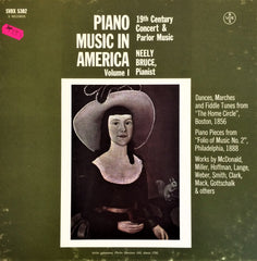 Çeşitli Sanatçılar / Piano Music in America Volume 1: 19th Century Concert and Parlor Music, 3 LP Box
